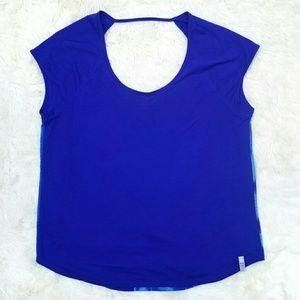 Under Armour heat gear vented back top semi fit XL